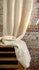 cortinas lino y algodon