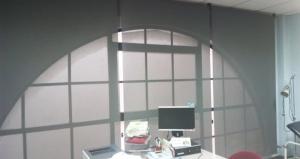 cortinas enrollabes screen en consulta medica