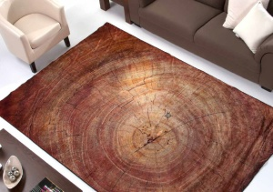 alfombra textura madera digital