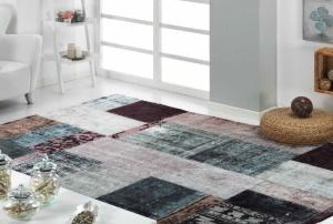 salon alfombra digital cuadros