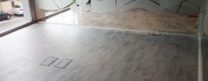 resultado final instalacion suelo vinilo tonos decoracion